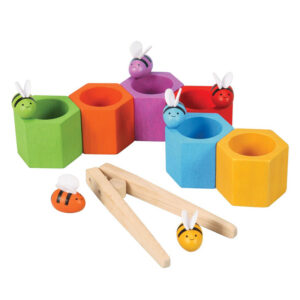 Abejas en la Colmena Plan Toys - Amatriuska