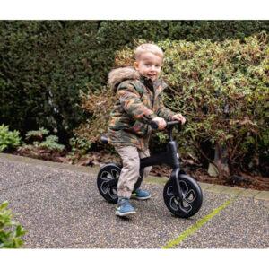Bicicleta sin pedales QPlay Tech Balance, asiento ajustable - Amatriuska