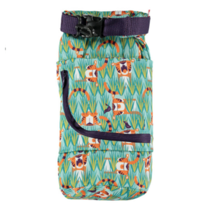 Bolsa impermeable Pop In Tiger, costuras selladas con cinta adhesiva - Amatriuska