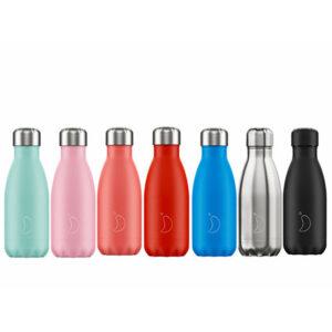 Botella Chilly´s 260ml, acero inoxidable, frío y calor, hermética