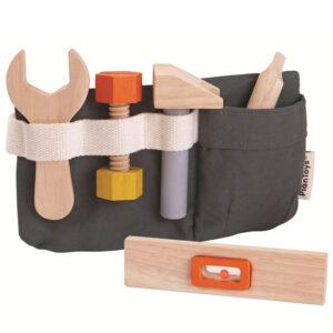 Cinturón de herramientas de madera Plan Toys - Amatriuska