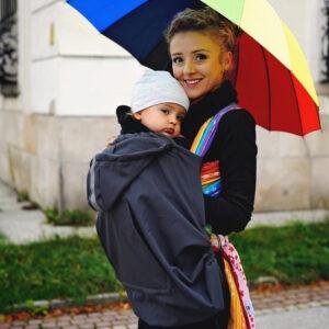 Cobertor para portabebés Little Frog - Amatriuska