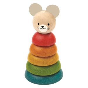 Encaja las formas ratón Plan Toys - Amatriuska
