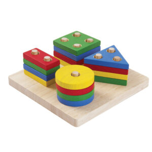 Figuras Geométricas Plan Toys - Amatriuska