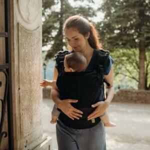 Mochila portabebés evolutiva Boba X, ergonómica, desde los 4 kilos