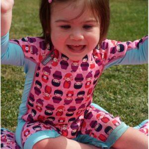 Neopreno niño PopIn, antimanchas e impermeable, protección UPF50+