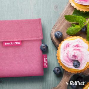 Porta snack Snack'n'go Roll'eat, antimanchas, impermeable - Amatriuska