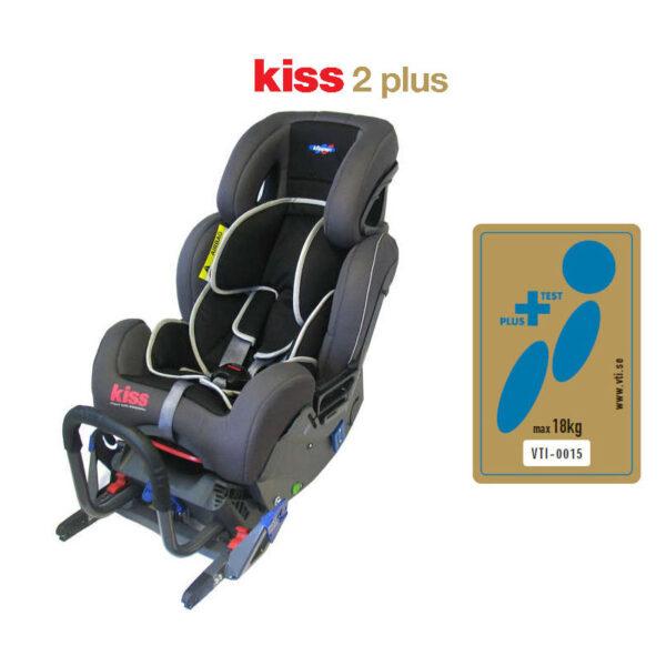 Silla de coche Klippan Kiss 2 Plus, grupo 0/1, desde nacimiento a 18 kilos