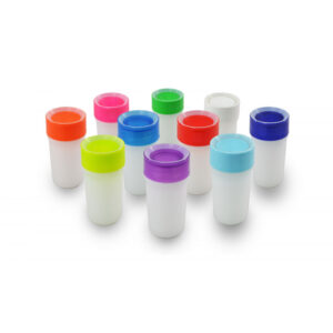 Vaso antiderrame con luz Litecup, 330ml, tapa de rosca