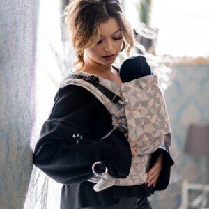 Mochila portabebés Fidella Fusión Baby, desde el nacimiento - Amatriuska